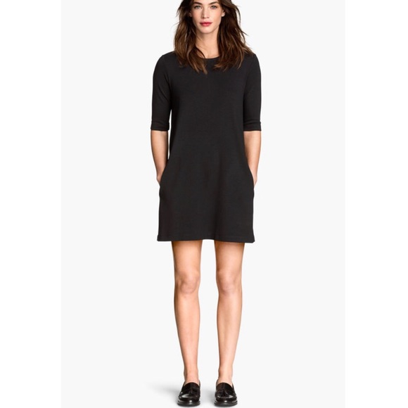 H&M Dresses & Skirts - H&M Dark Gray Jersey Mini Dress